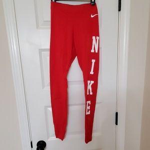 Nike Cotton Logo Leggings